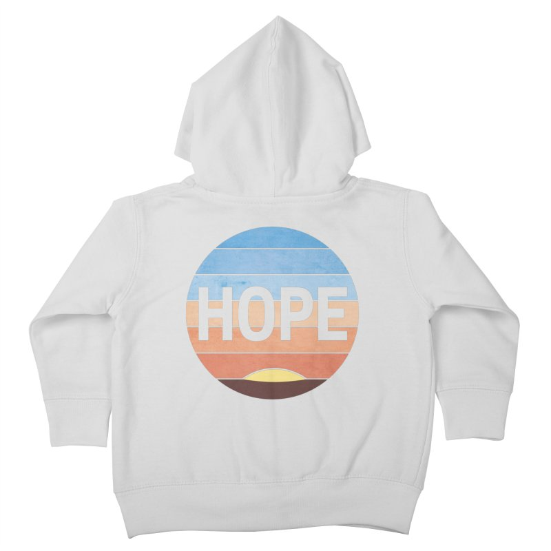 Hope Kids Toddler Zip-Up Hoody by Gyledesigns' Artist Shop