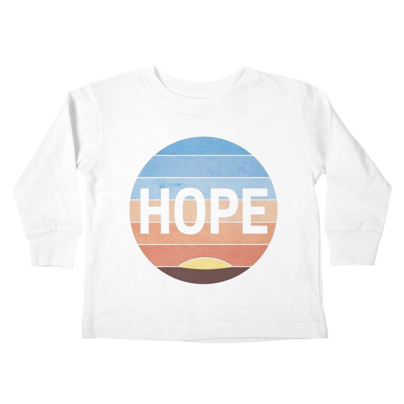 Hope Kids Toddler Longsleeve T-Shirt by Gyledesigns' Artist Shop
