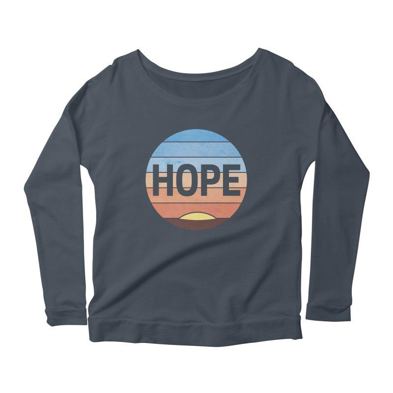 Hope Women's Scoop Neck Longsleeve T-Shirt by Gyledesigns' Artist Shop