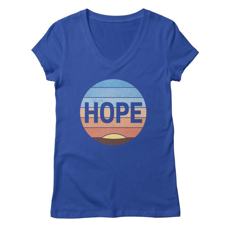 Hope Women's Regular V-Neck by Gyledesigns' Artist Shop