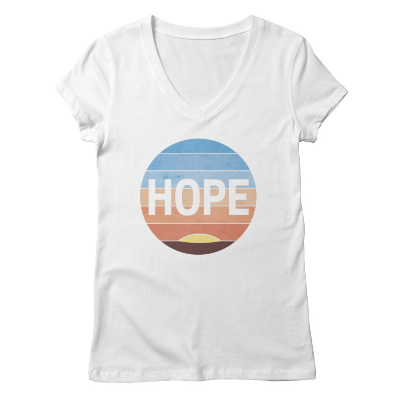 Hope Women's V-Neck by Gyledesigns' Artist Shop