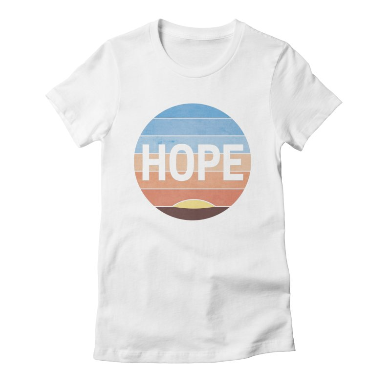 Hope Women's Fitted T-Shirt by Gyledesigns' Artist Shop