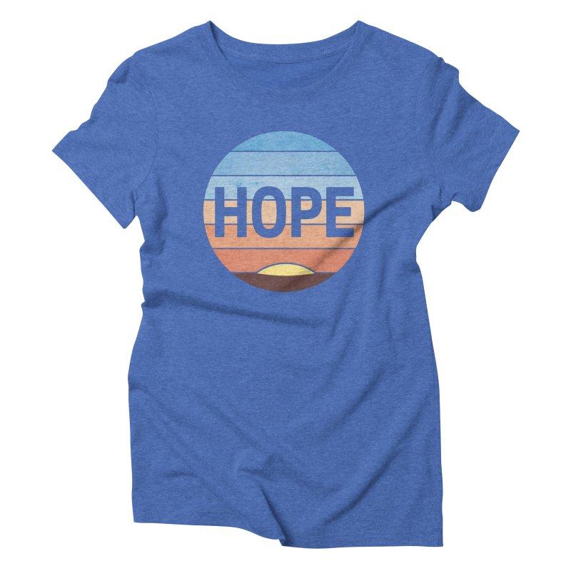 Hope Women's Triblend T-Shirt by Gyledesigns' Artist Shop