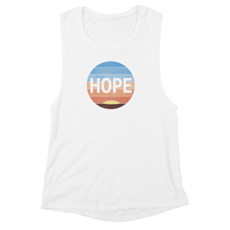Hope Women's Muscle Tank by Gyledesigns' Artist Shop