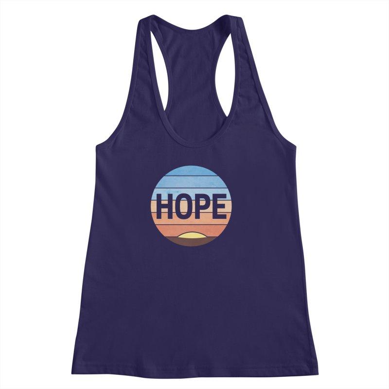 Hope Women's Racerback Tank by Gyledesigns' Artist Shop