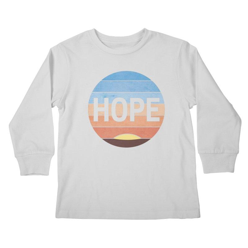 Hope Kids Longsleeve T-Shirt by Gyledesigns' Artist Shop