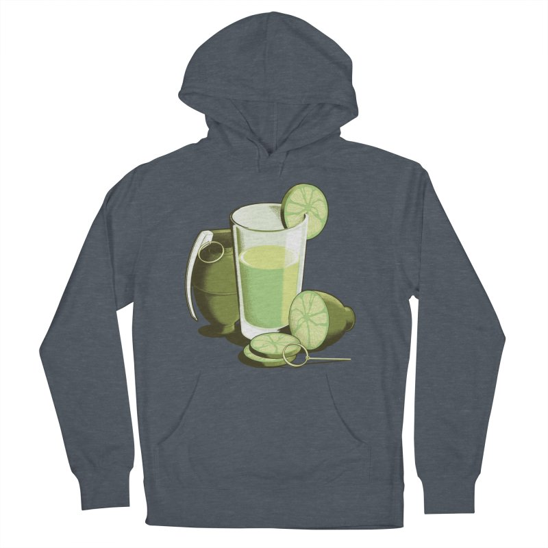 Make Juice Not War Men's French Terry Pullover Hoody by Gyledesigns' Artist Shop