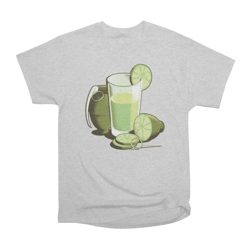 Make Juice Not War Men's Heavyweight T-Shirt by Gyledesigns' Artist Shop