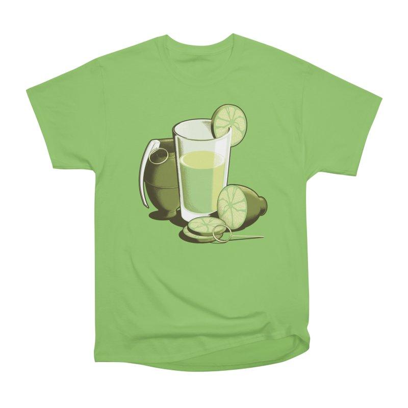 Make Juice Not War Women's Heavyweight Unisex T-Shirt by Gyledesigns' Artist Shop