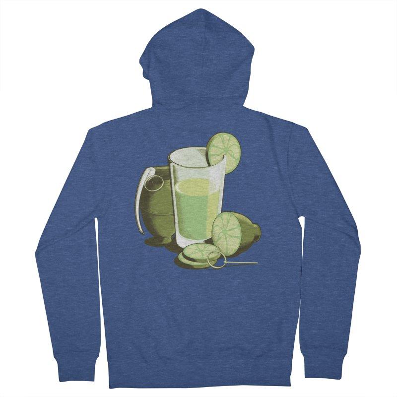 Make Juice Not War Women's French Terry Zip-Up Hoody by Gyledesigns' Artist Shop