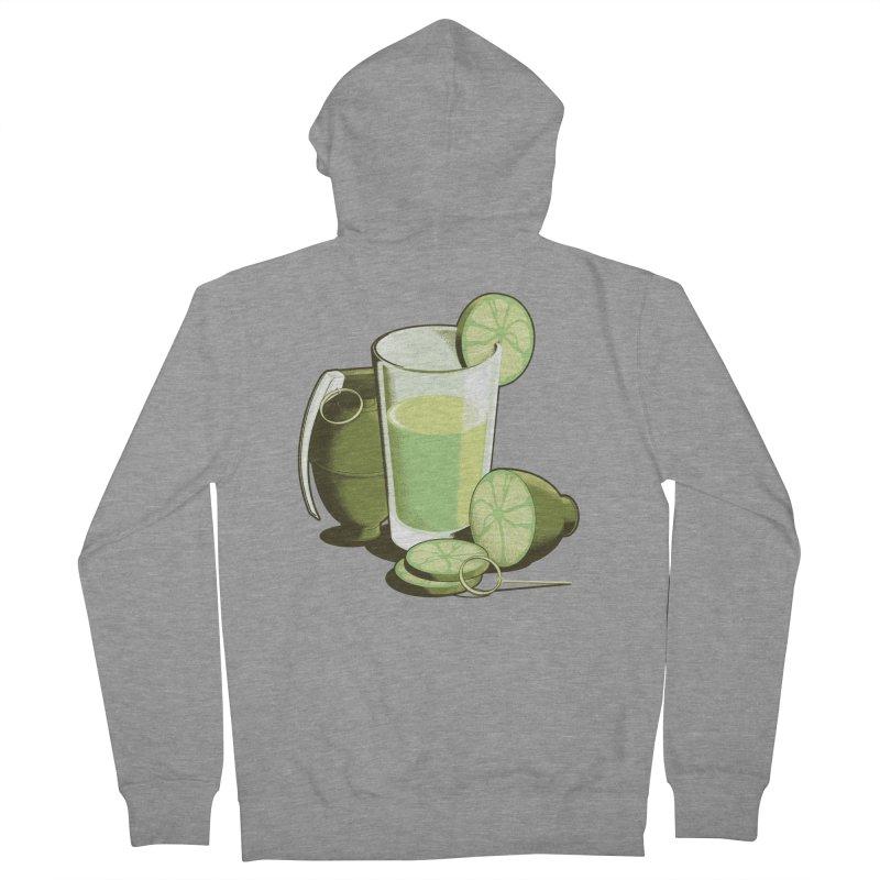 Make Juice Not War Men's Zip-Up Hoody by Gyledesigns' Artist Shop