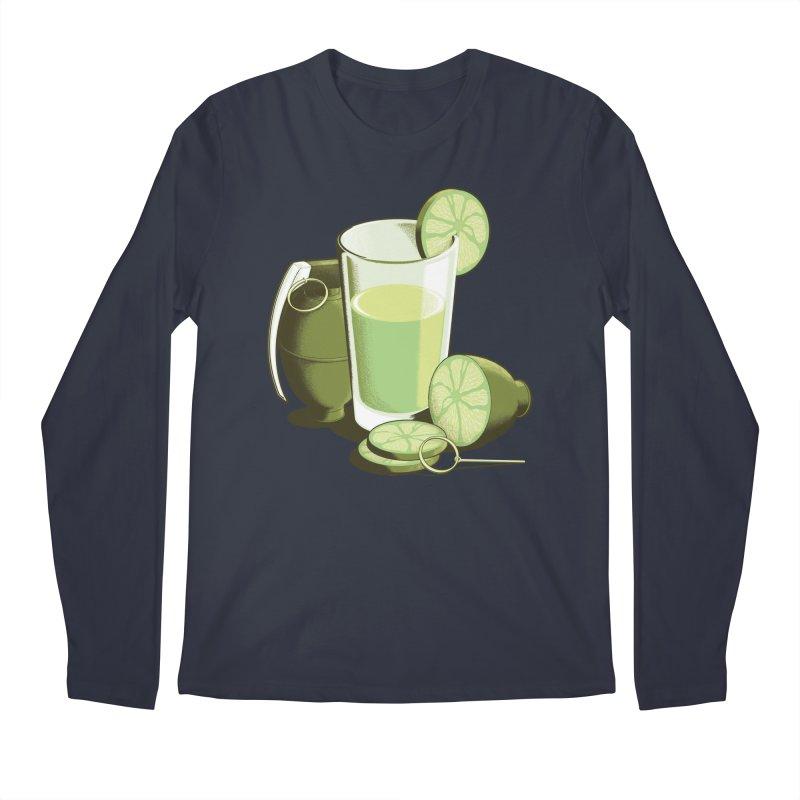 Make Juice Not War Men's Regular Longsleeve T-Shirt by Gyledesigns' Artist Shop