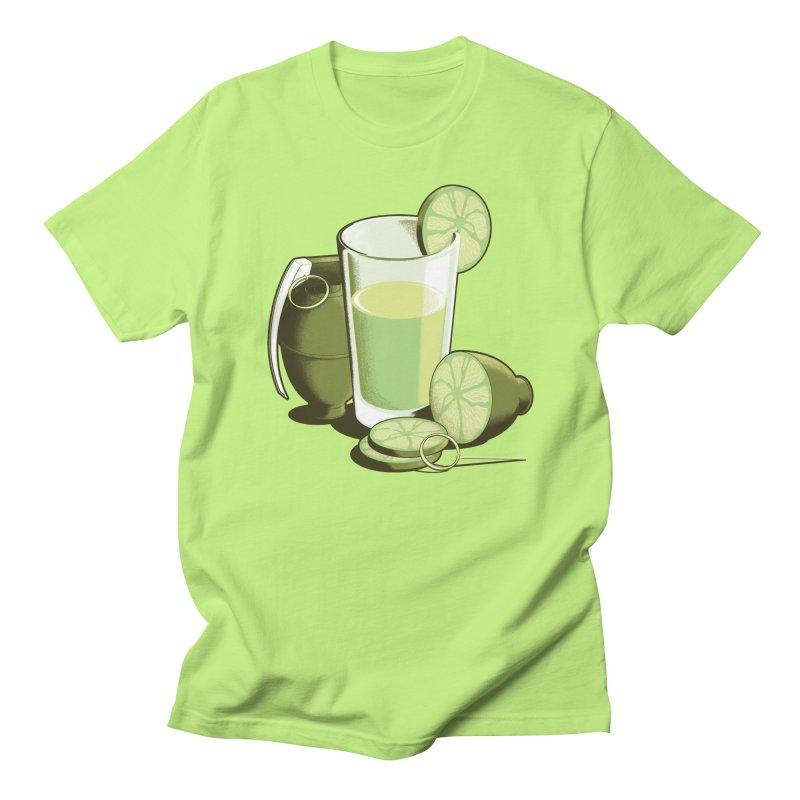 Make Juice Not War Men's Regular T-Shirt by Gyledesigns' Artist Shop