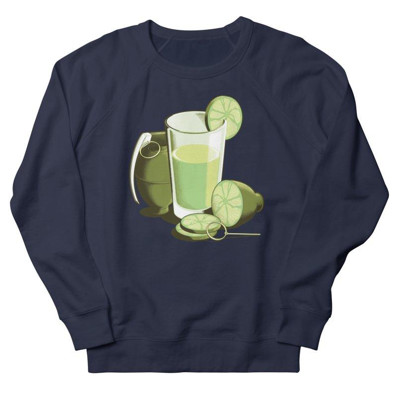 Make Juice Not War Women's French Terry Sweatshirt by Gyledesigns' Artist Shop