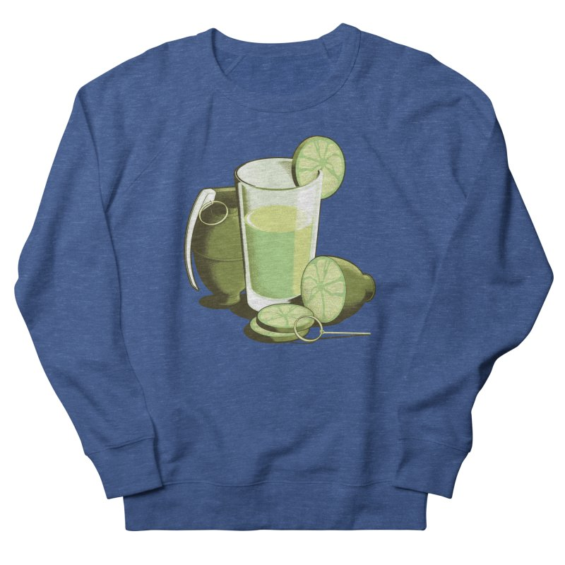 Make Juice Not War Men's French Terry Sweatshirt by Gyledesigns' Artist Shop