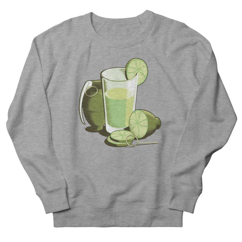Make Juice Not War Men's French Terry Sweatshirt by Gyledesigns' Artist Shop