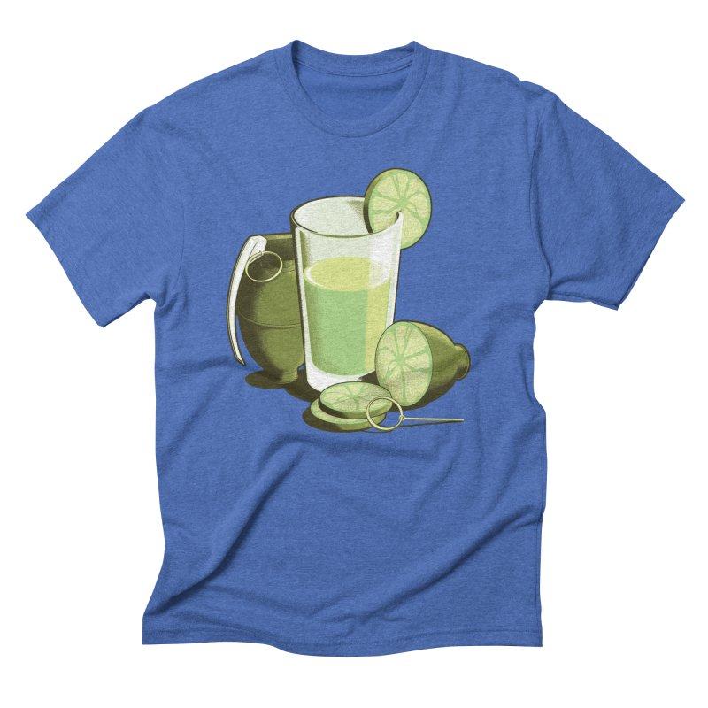 Make Juice Not War Men's Triblend T-Shirt by Gyledesigns' Artist Shop