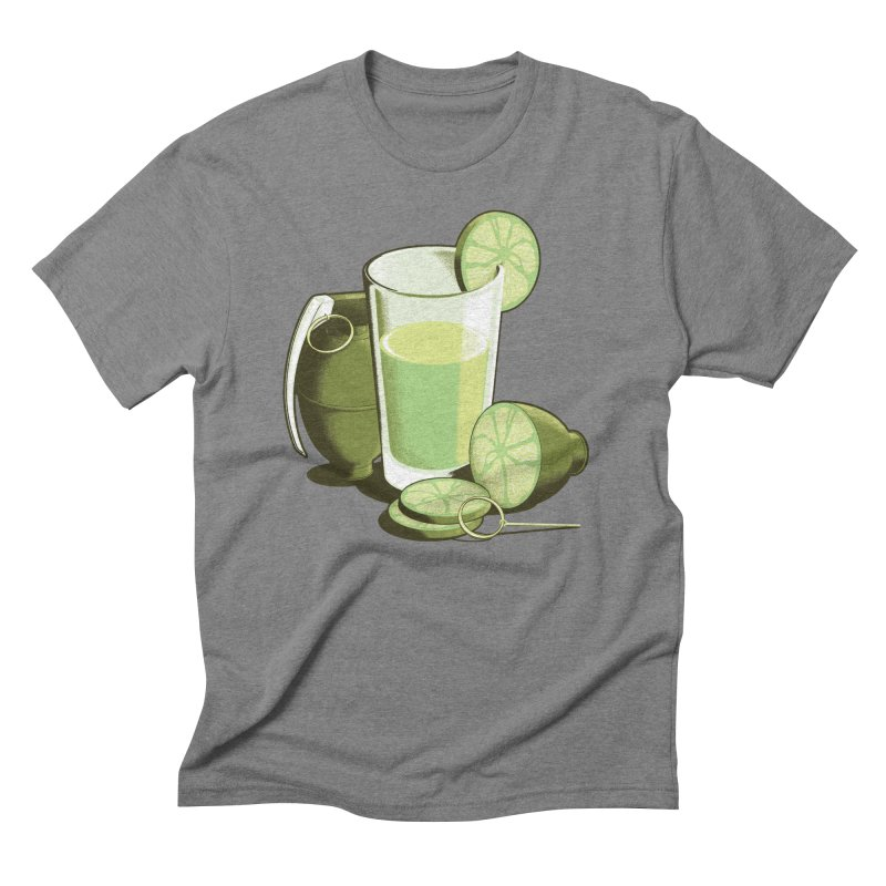 Make Juice Not War Men's Triblend T-Shirt by Gyledesigns' Artist Shop