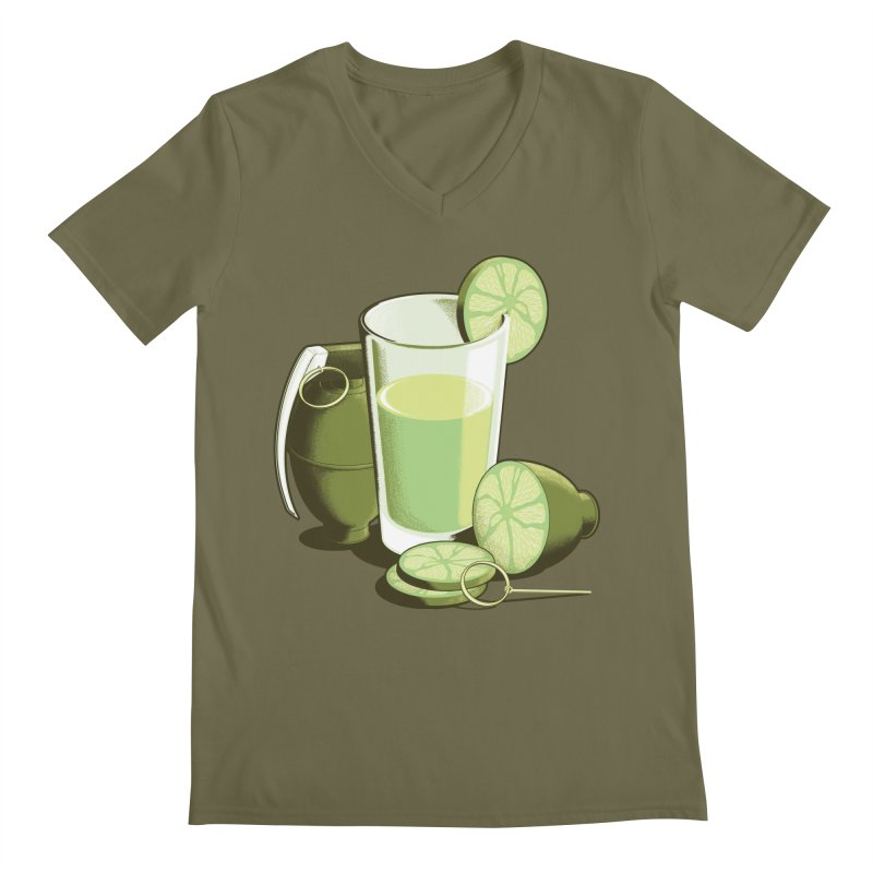 Make Juice Not War Men's V-Neck by Gyledesigns' Artist Shop