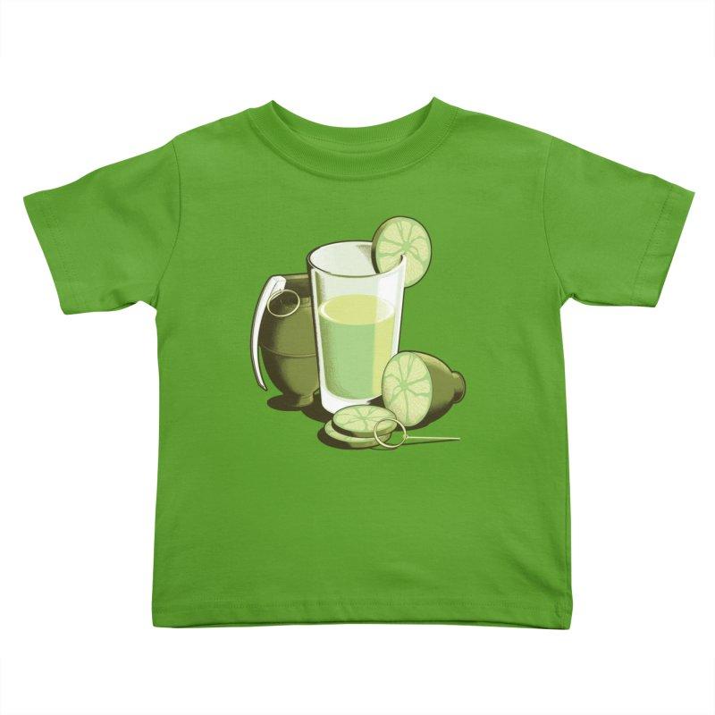 Make Juice Not War Kids Toddler T-Shirt by Gyledesigns' Artist Shop