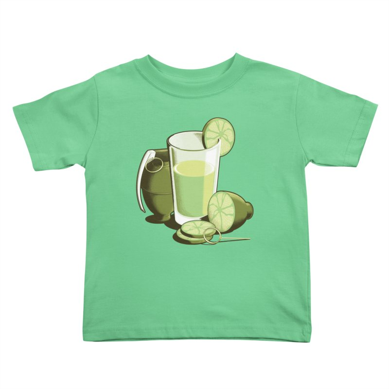 Make Juice Not War Kids Toddler T-Shirt by Gyledesigns' Artist Shop