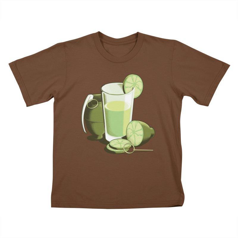 Make Juice Not War Kids T-Shirt by Gyledesigns' Artist Shop