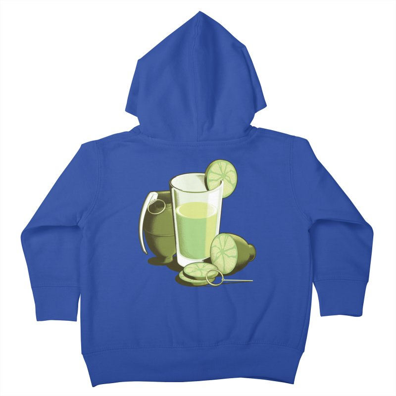 Make Juice Not War Kids Toddler Zip-Up Hoody by Gyledesigns' Artist Shop