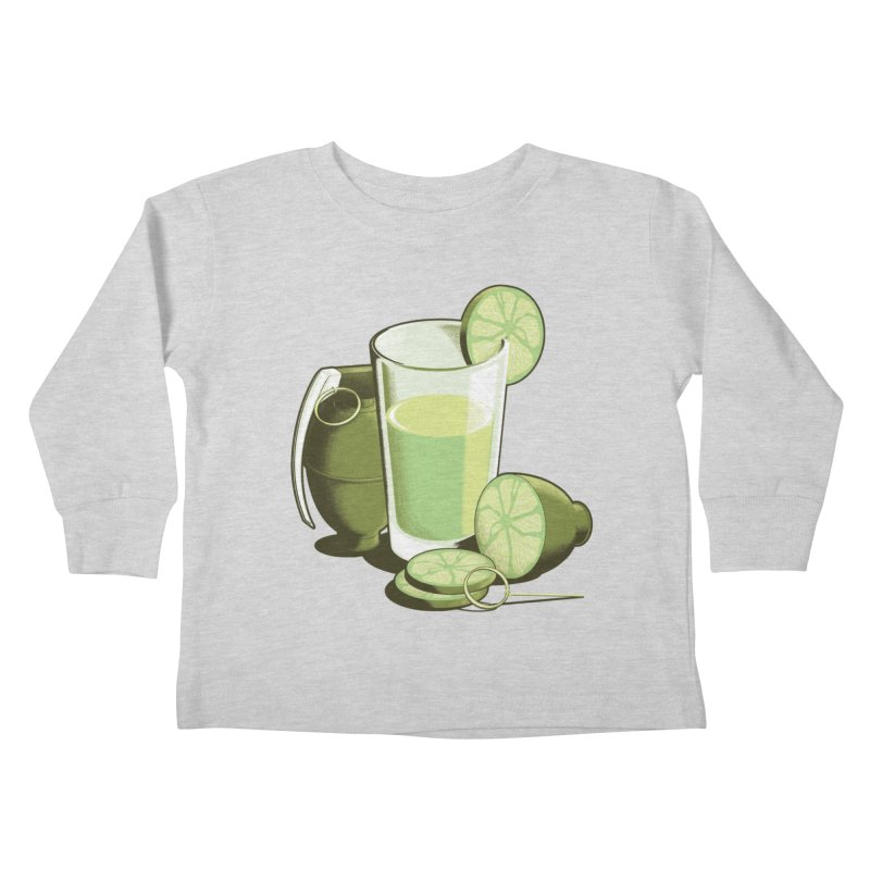 Make Juice Not War Kids Toddler Longsleeve T-Shirt by Gyledesigns' Artist Shop