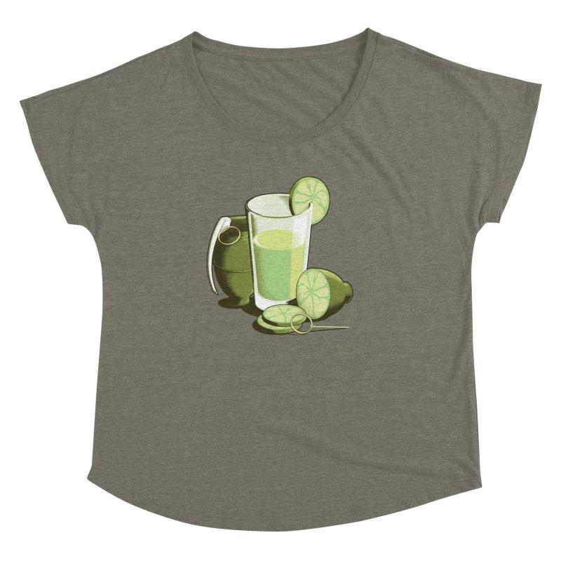 Make Juice Not War Women's Dolman Scoop Neck by Gyledesigns' Artist Shop