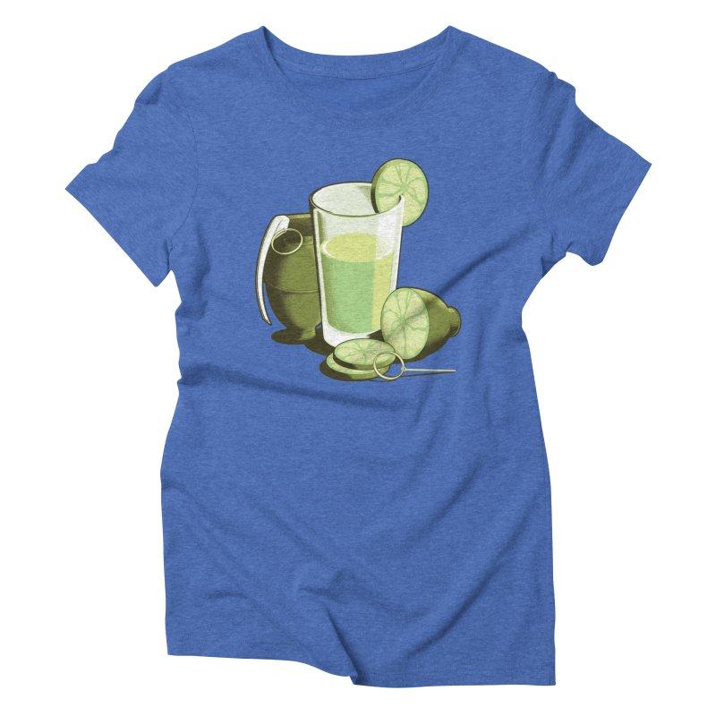 Make Juice Not War Women's Triblend T-Shirt by Gyledesigns' Artist Shop