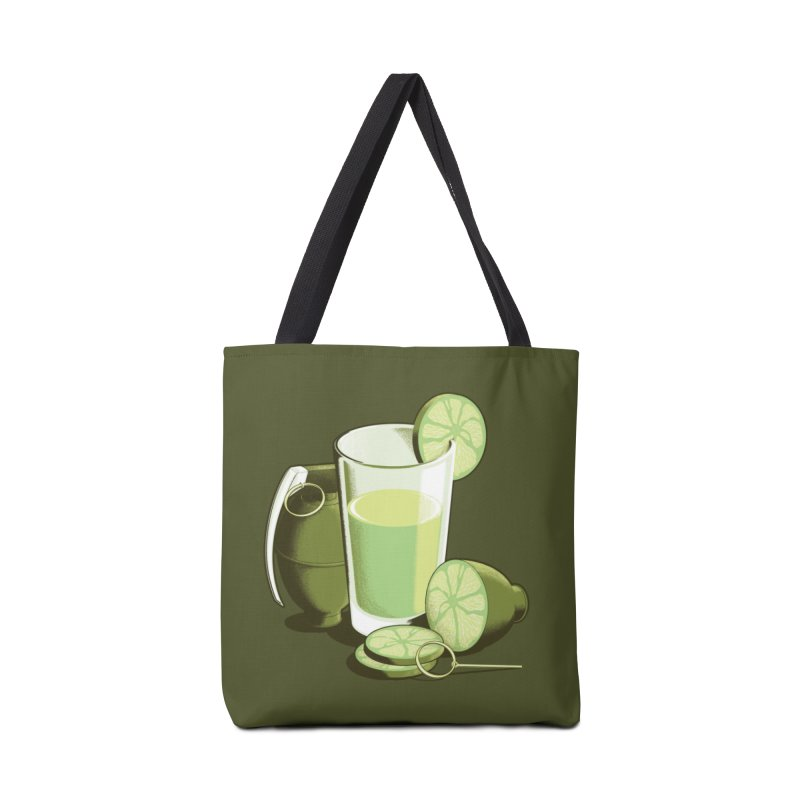 Make Juice Not War Accessories Bag by Gyledesigns' Artist Shop