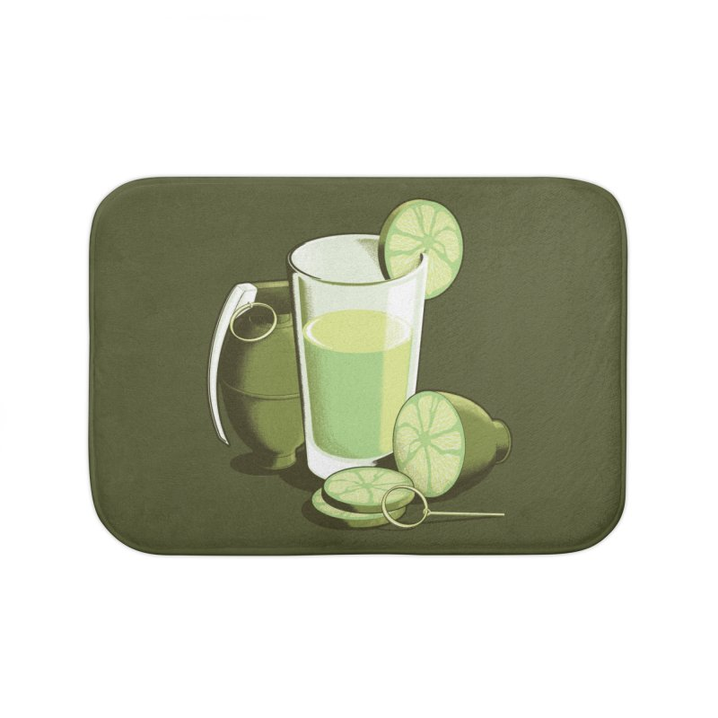Make Juice Not War Home Bath Mat by Gyledesigns' Artist Shop