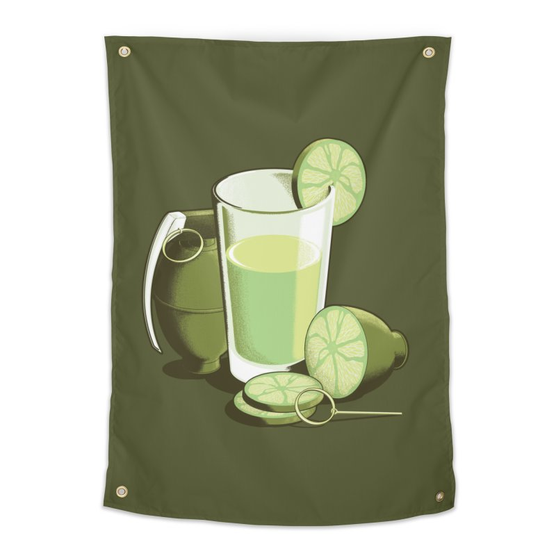 Make Juice Not War Home Tapestry by Gyledesigns' Artist Shop