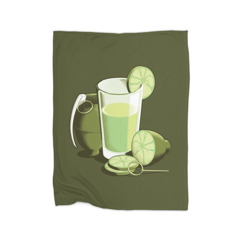 Make Juice Not War Home Blanket by Gyledesigns' Artist Shop
