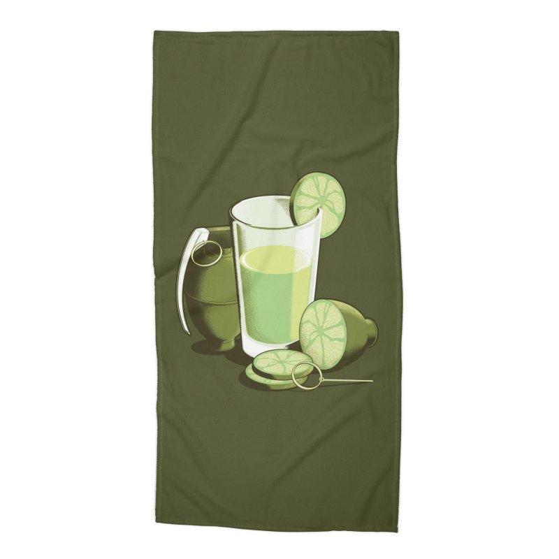 Make Juice Not War Accessories Beach Towel by Gyledesigns' Artist Shop