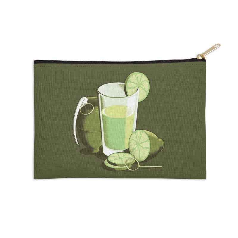 Make Juice Not War Accessories Zip Pouch by Gyledesigns' Artist Shop