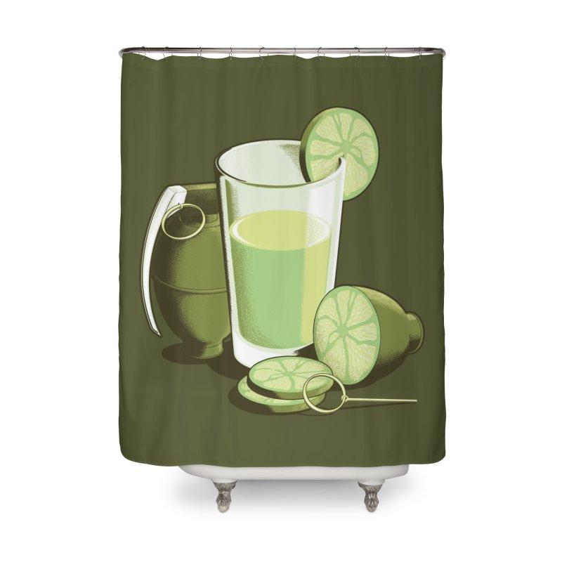 Make Juice Not War Home Shower Curtain by Gyledesigns' Artist Shop