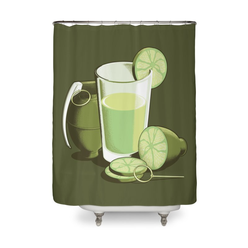 Make Juice Not War Home Shower Curtain by Gyledesigns' Artist Shop