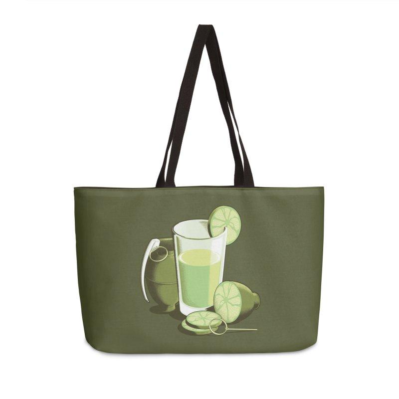 Make Juice Not War Accessories Weekender Bag Bag by Gyledesigns' Artist Shop