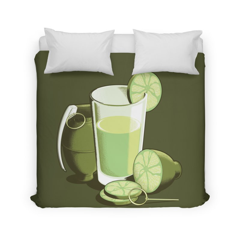 Make Juice Not War Home Duvet by Gyledesigns' Artist Shop