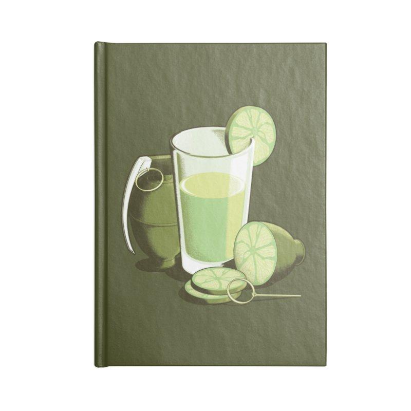 Make Juice Not War Accessories Lined Journal Notebook by Gyledesigns' Artist Shop