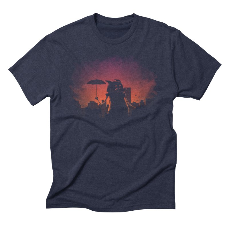 Mr. Mustache Comes To Town Men's T-Shirt by Gyledesigns' Artist Shop
