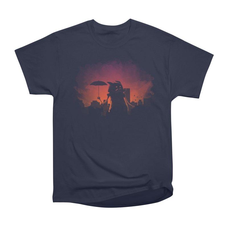 Mr. Mustache Comes To Town Women's Heavyweight Unisex T-Shirt by Gyledesigns' Artist Shop