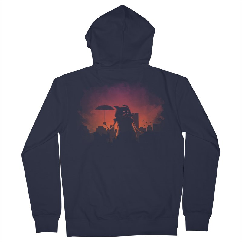 Mr. Mustache Comes To Town Men's Zip-Up Hoody by Gyledesigns' Artist Shop