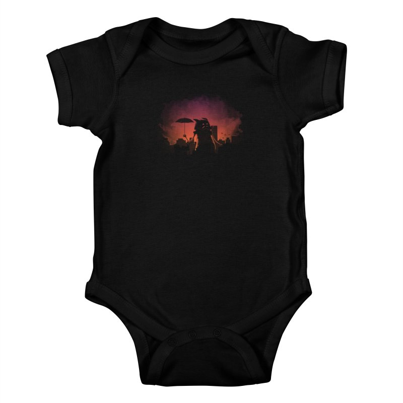 Mr. Mustache Comes To Town Kids Baby Bodysuit by Gyledesigns' Artist Shop