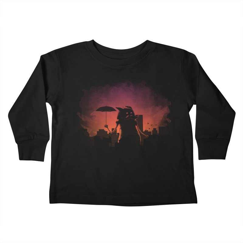 Mr. Mustache Comes To Town Kids Toddler Longsleeve T-Shirt by Gyledesigns' Artist Shop