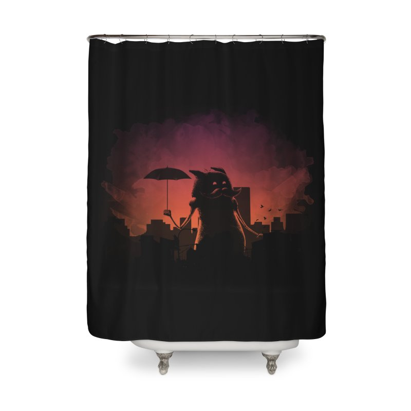 Mr. Mustache Comes To Town Home Shower Curtain by Gyledesigns' Artist Shop