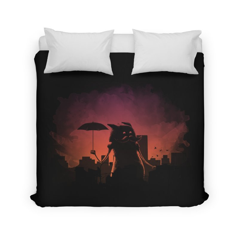 Mr. Mustache Comes To Town Home Duvet by Gyledesigns' Artist Shop