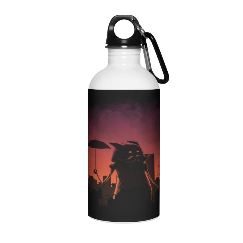 Mr. Mustache Comes To Town Accessories Water Bottle by Gyledesigns' Artist Shop