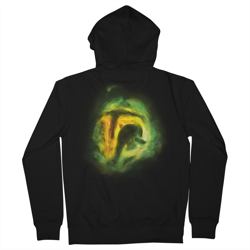 Negative Space: The Fett Nebula Women's French Terry Zip-Up Hoody by Gyledesigns' Artist Shop